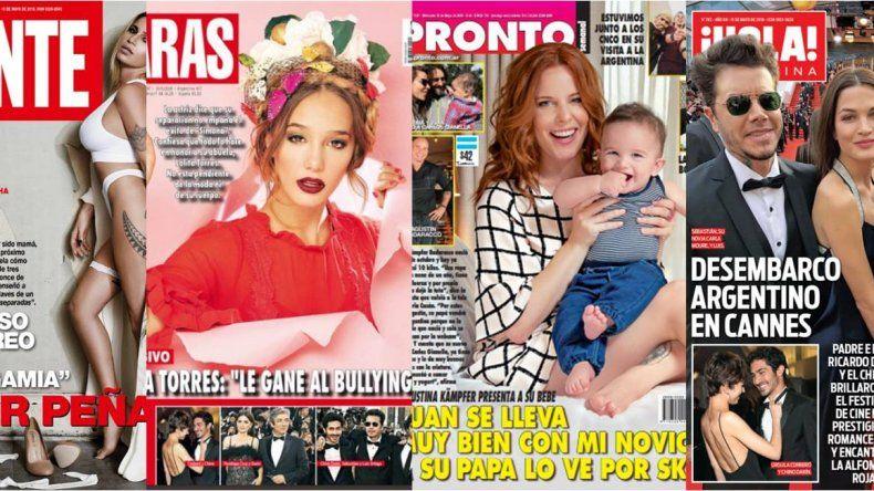 Ángela Torres habla del bullying, Agustina Kämpfer habla de su maternidad y su novio, y el resto de las tapas de la semana