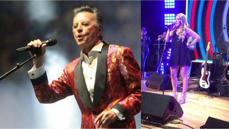 Jimena Barón cantó Bienvenido amor en el homenaje a Palito Ortega