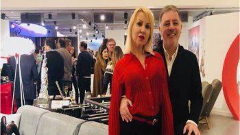 Fabián Doman y su novia volvieron a mostrase en público luego de la crisis