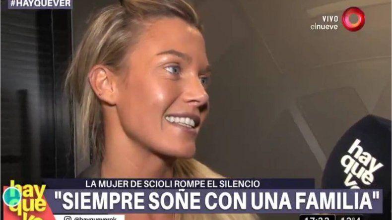 Después del escándalo, Gisela Berger rompió el silencio y aseguró: Quiero tener más hijos con Scioli