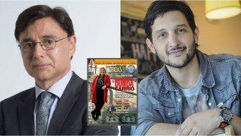 Germán Paoloski y un reclamo al dueño de la revista Noticias: Mirá que había nombres...
