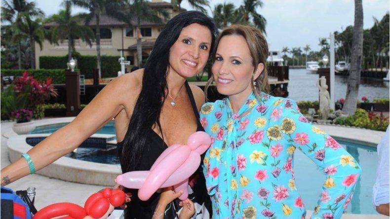 Natalia Denegri festejó a lo grande los 4 años de su hija Nicole