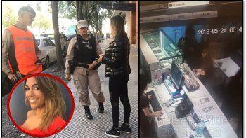 Mecheras en Puerto Madero robaron a Floppy Tesouro: los videos del terrible momento