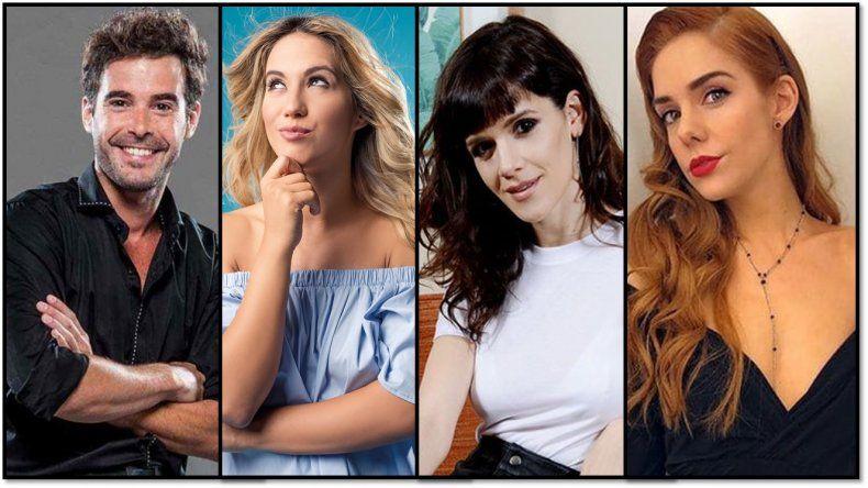 Nicolás Cabré ya tiene a sus tres compañeras para la nueva ficción: Urtizberea, Nahir Calvo y Vigna