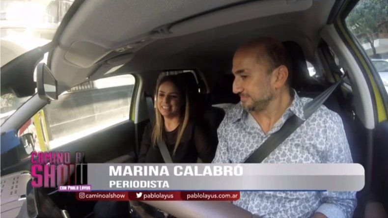 ¿Qué dirá Feinmann? Marina Calabró cantando en el nuevo programa de Pablo Layus