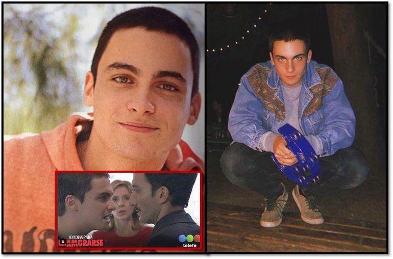 Conocé a Franco Rizzaro, el hijo de Carla Peterson y Juan Minujín en 100 días para enamorarse