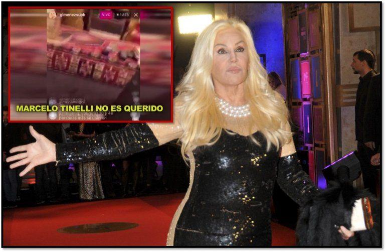 Susana hizo una transmisión en vivo de Instagram sin querer hablando mal de Tinelli