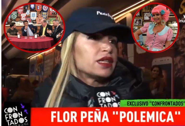 Flor Peña le contestó a Gustavo Sofovich: No se por qué se hizo cargo; debe tener cola de paja