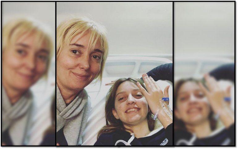 Operaron a Paloma, la hija de Marisa Brel: Tiene un tumor chiquito y no le tenemos miedo