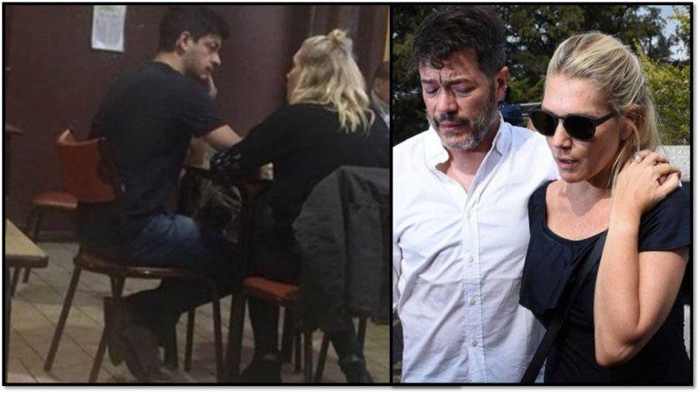 Melina Fleiderman separada del ex de Perez Volpín, en público con su nueva pareja