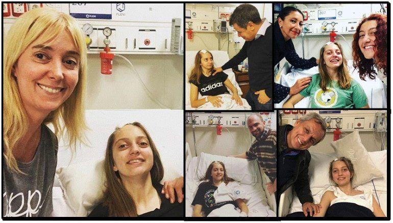 Marisa Brel y las buenas noticias sobre la salud de Paloma: He llorado a los gritos de emoción