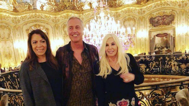 LLegan los famosos a Rusia; Susana, Marley y Lizy se encontraron en un lujoso restaurant