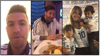 Luego que se filtrará el misterioso video del Kun con Messi