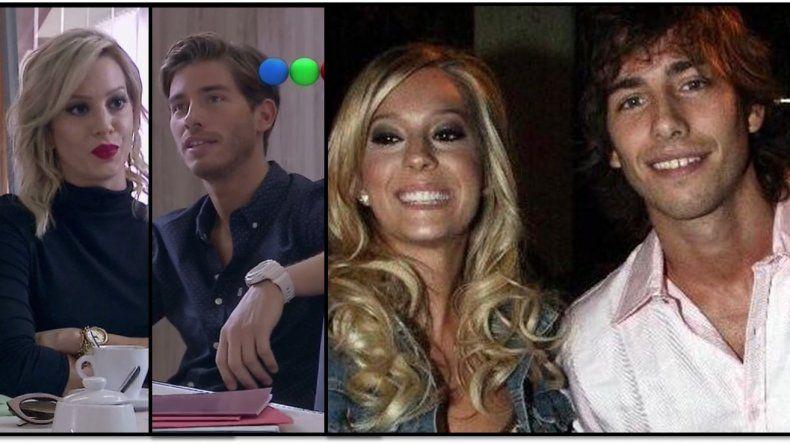 Noelia Marzol y Vico D´Alessandro fueron novios, se separaron y ahora se divorcian en la ficción