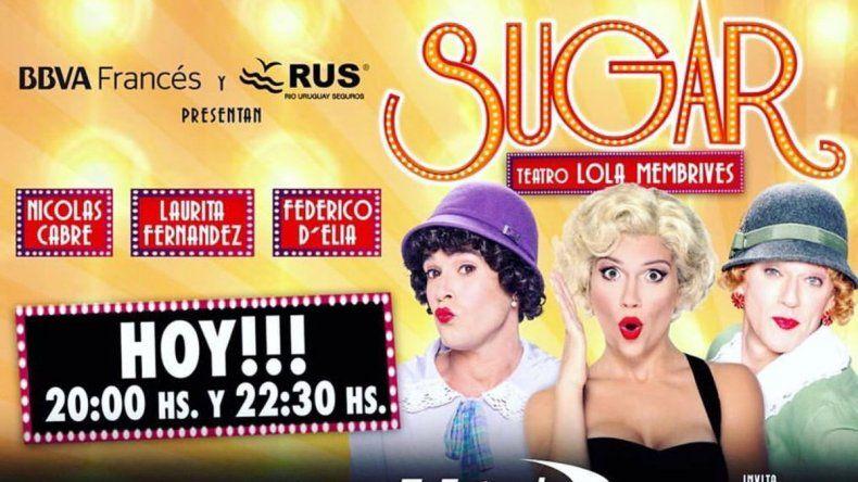 Sugar lídera la taquilla teatral porteña