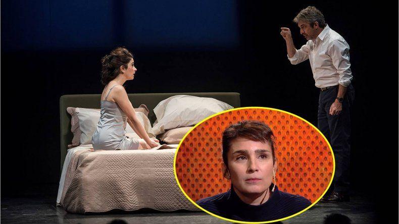 Érica Rivas, que también terminó mal con Darín en el teatro, se solidarizó con Bertuccelli