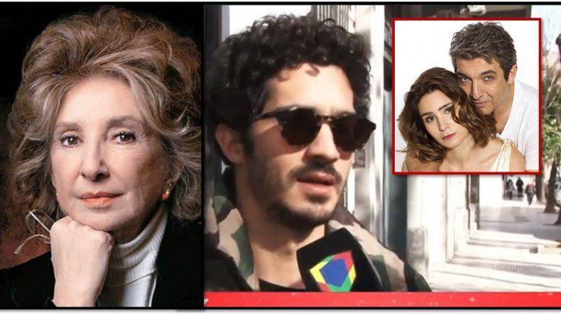 El escándalo Darín: Norma Aleandro y su hijo Chino hablaron de Valeria Bertuccelli