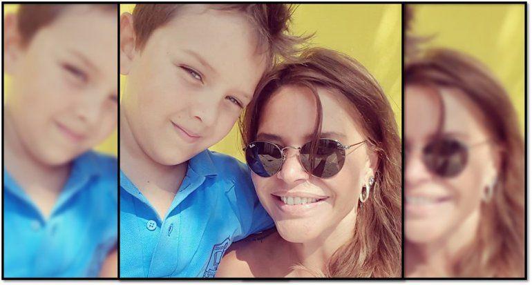 El drama de Nazarena, su hijo podría perder el 50 % de su visión