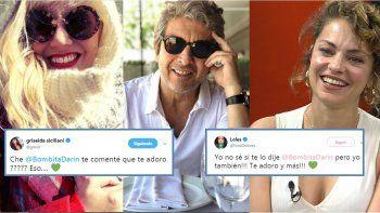 Las actrices salen a bancar a Darín: Griselda Siciliani y Dolores Fonzi dicen que lo quieren