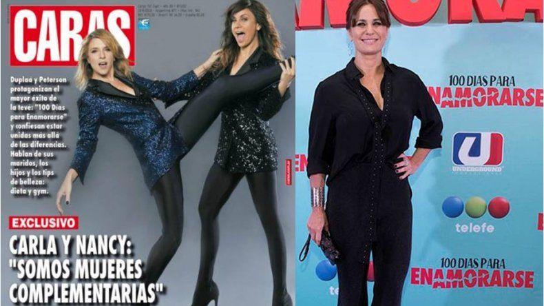 Polémica por el excesivo photoshop a Nancy Dupláa y Carla Peterson en tapa de Caras