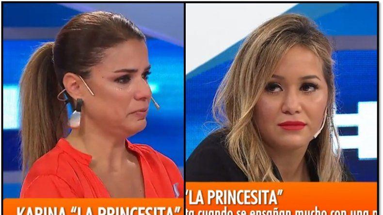 Tenso momento entre Karina La Princesa y Marina Calabró: reproches