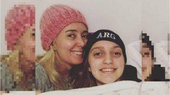 Marisa Brel habló de la recuperación de su hija Paloma: Le sacaron los puntos...