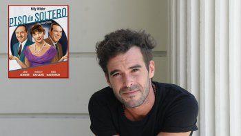 Nicolás Cabré hará Piso de soltero en teatro en 2019