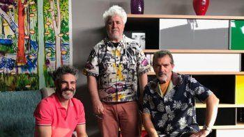 El cambio de Leo Sbaraglia: dejó a Griselda Siciliani por Almodóvar y Antonio Banderas