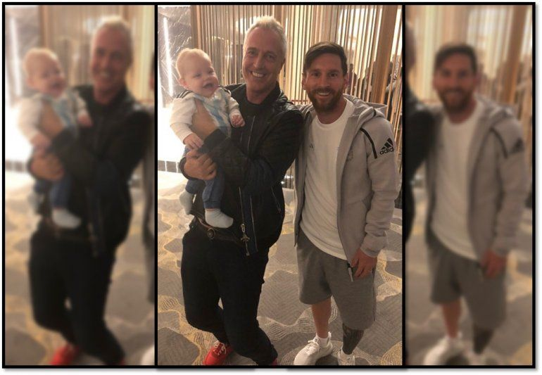 El Mirko de la suerte; se encontró con Messi y Argentina se clasificó