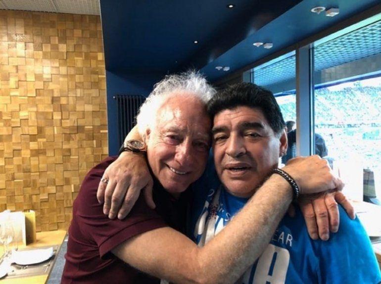 Coppola, quebrado, habló de su encuentro con Maradona: Es como un cierre de pareja que se ama profundamente