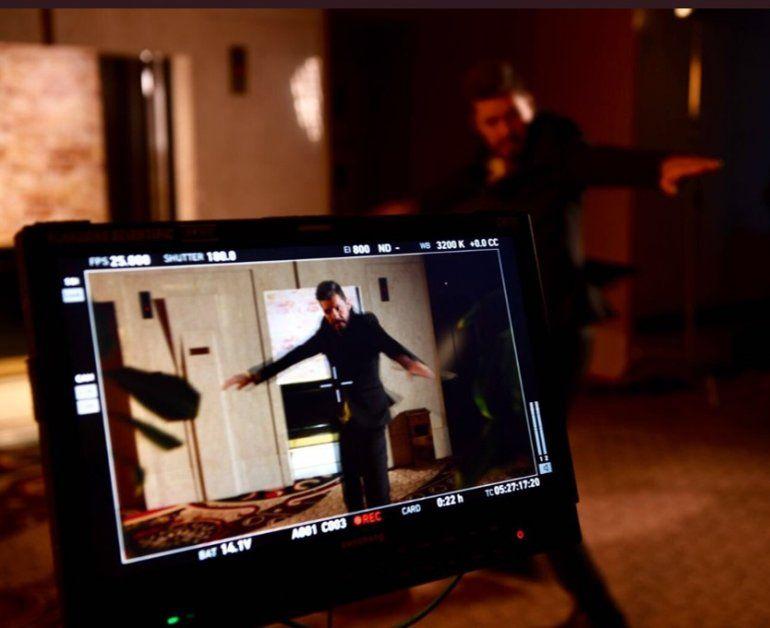 Tinelli graba la promo del Bailando y baila con coreo de Mati Napp