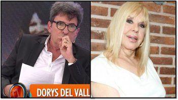 Beto Cesar imitó a Dorys del Valle y la actriz lo destruyó: Como actor de comedia sos malo y como imitador un desastre