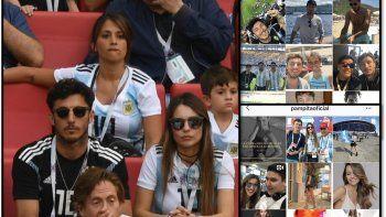 Pampita y Pico juntos en Rusia pero separados en las redes sociales