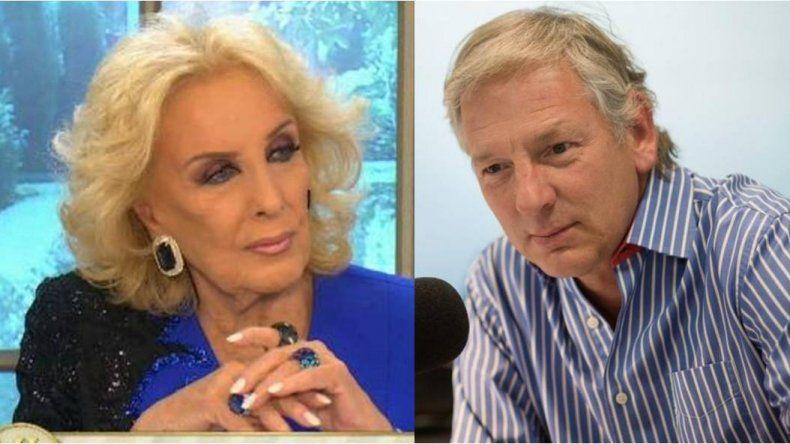 La grieta: Mirtha Legrand y Marcelo Longobardi, cada vez más distanciados