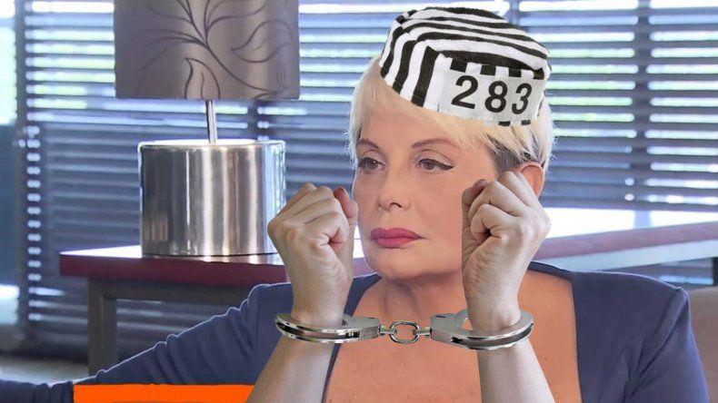 Carmen Barbieri teme ir presa: lleva 280 horas de las 400 de su probation, pero si no las cumple...