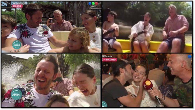 China Suárez y Benjamín Vicuña compartieron la intimidad de su pareja y sus hijos junto a Marley