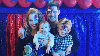 Michael Buble habló por primera vez de la enfermedad de su hijo Noah: Estuve en el infierno