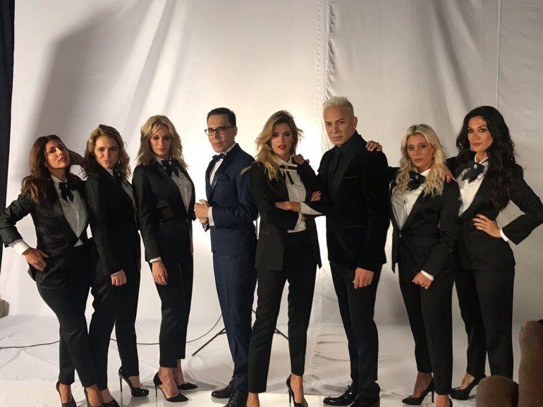 Polino presentó a sus panelistas para el nuevo programa de la tarde de El Trece