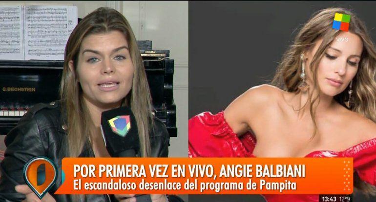 Angie Balbiani confirmó su distanciamiento de Pampita: Me dijo que necesitaba tiempo