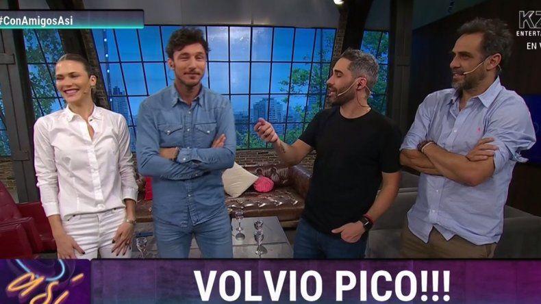 Pico Mónaco volvió a su programa de tele en cable, lejos de Pampita: ¿Habló de la separación?