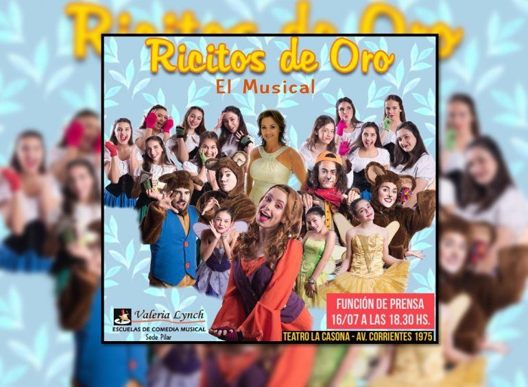 Nancy Pazos insiste con el infantil: Ahora hará Ricitos de oro, el musical