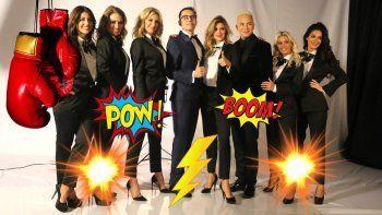 La foto de las panelistas de Polino: guerra de egos e internas antes de empezar