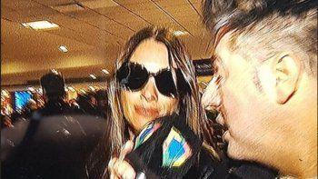 Pampita volvió al país después del escándalo: separada y sin programa