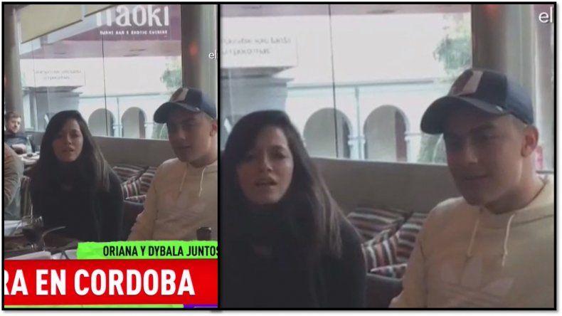 Video: las primeras imágenes de Oriana Sabatini y Dybala juntos en Córdoba: presentación familiar