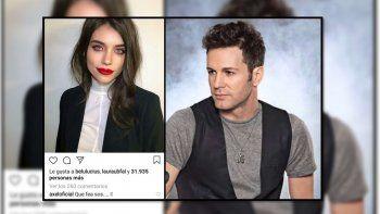 Axel y un dudoso comentario en Instagram a Eva de Dominici: ¿Chiste malo o le está tirando los perros?
