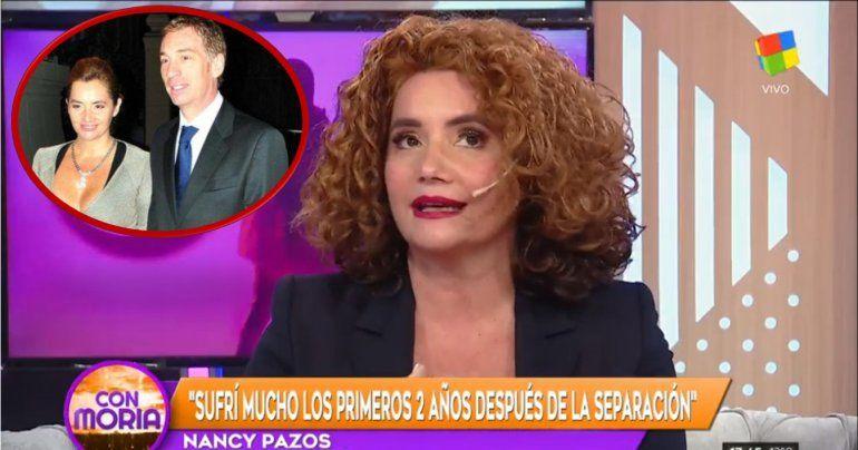 Nancy Pazos reveló detalles secretos de su separación de Santilli: Puso cinco almohadas en el medio de la cama