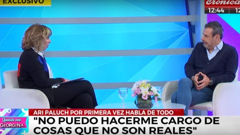 El detrás de la entrevista entre Georgina y Paluch: Se fue enojado, me quiso agredir, mostró la hilacha