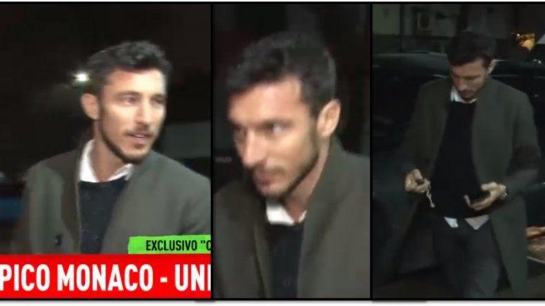 Pico Mónaco apareció en la tele después de escaparse de los medios: ¿qué dijo de su separación con Pampita ?