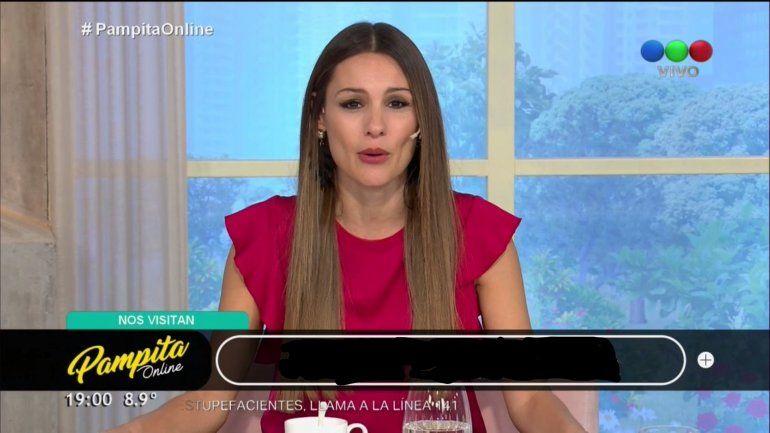 Día clave para saber si Pampita vuelve a su programa en cable: si no vuelve le cambian el título ya
