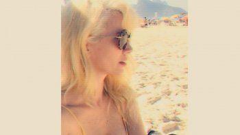 La foto híper sensual de Griselda Siciliani en las playas de Ipanema